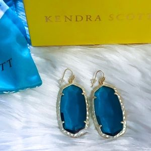Kendra Scott Ella Drop Earrings London Blue